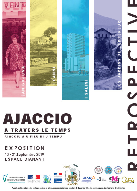 Expositions Ajaccio à travers le temps