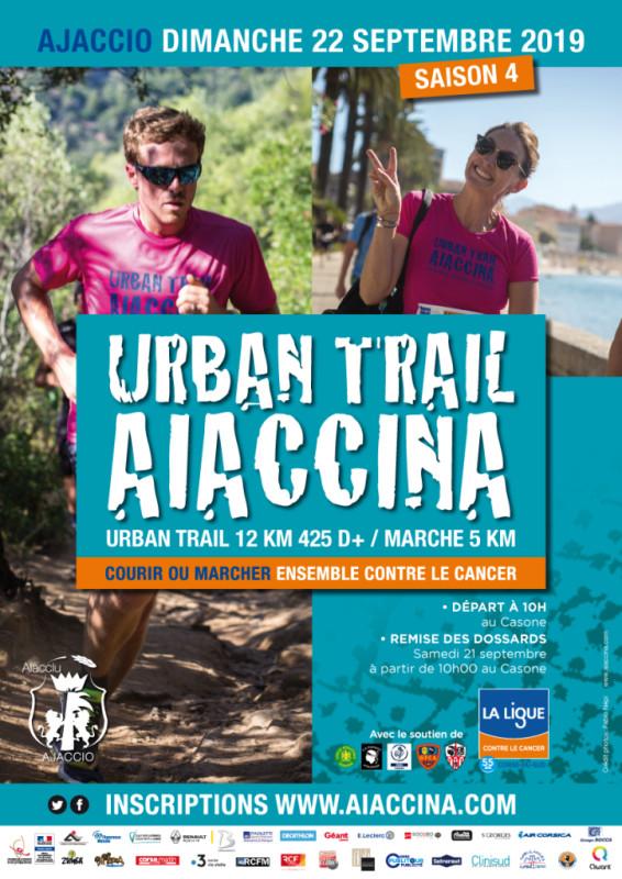 Ouverture des Inscriptions pour l'urban trail Aiaccina 2019