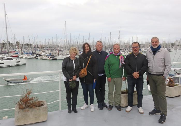 Projet Qualiporti : Visite du port de la Rochelle