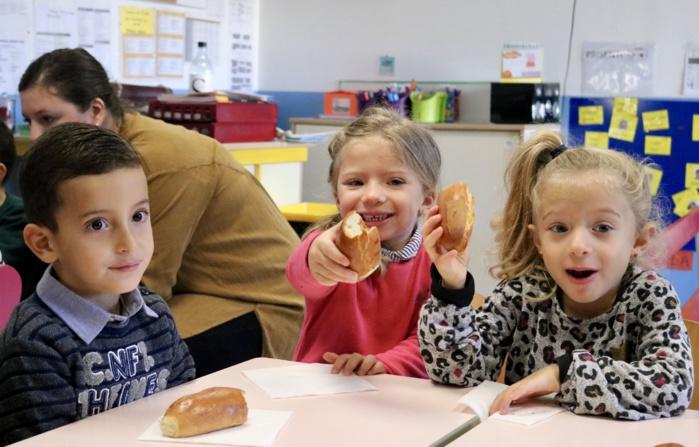 Petits déjeuners tout en douceur pour les élèves de l'école Andria Fazi