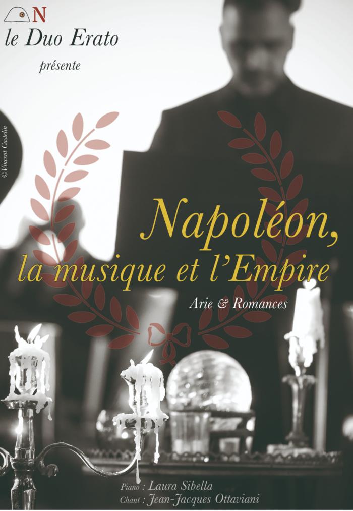 DUO ERATO « Napoléon, l'Empire et la musique » Samedi 7 décembre à 18h30 au Palais Fesch
