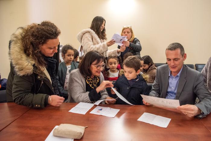 Signature des Contrats Coup de Pouce, pour l'égalité des chances à l'école