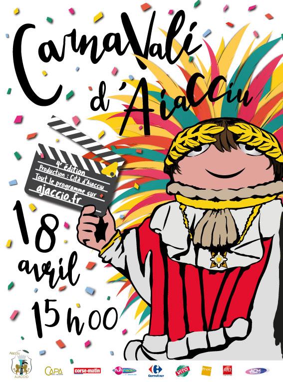 Carnaval d'Ajaccio 18 avril 2020