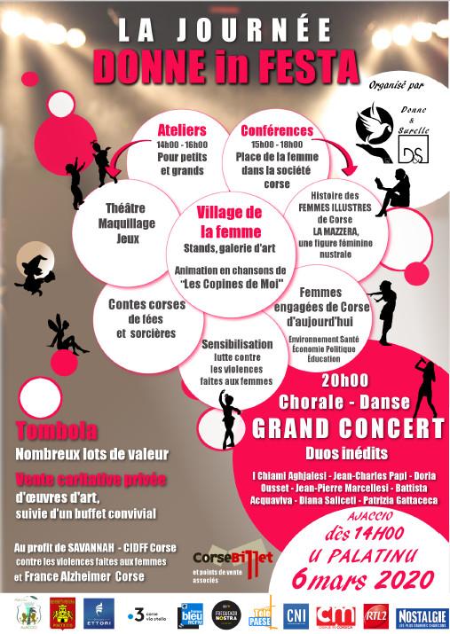 """Annulation des Journées des Droits de la Femme """"Donne In Festa"""" vendredi 6 mars au Palatinu"""
