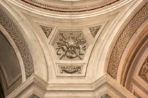 Grisailles et trompe-l'oeil remarquables réalisés par Jérôme Maglioli artiste peintre et architecte ajaccien.