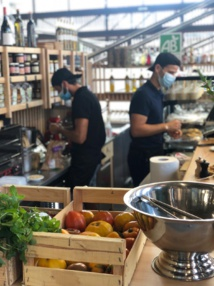 La nouvelle halle du marché, passage incontournable de la gastronomie ajaccienne