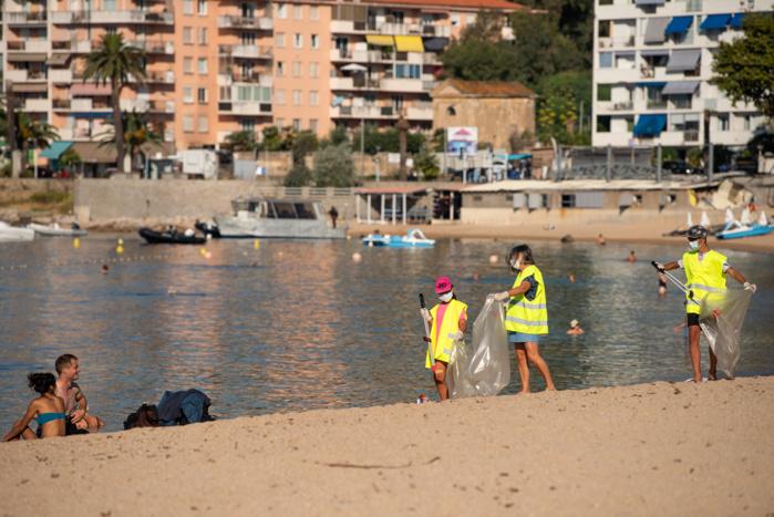 Opération plage propre