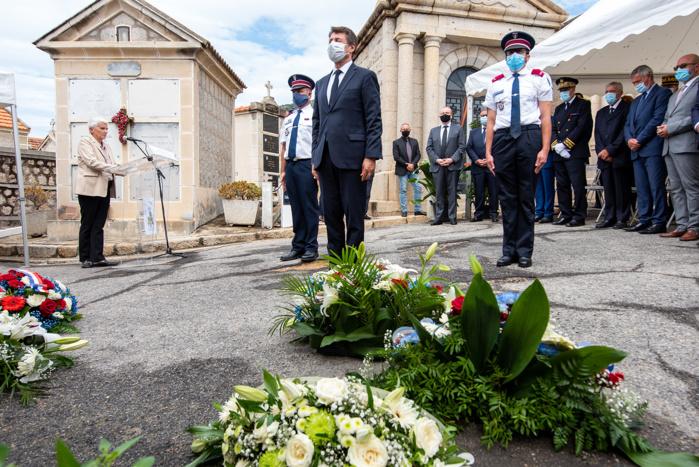 En mémoire des victimes de la Caravelle Ajaccio-Nice