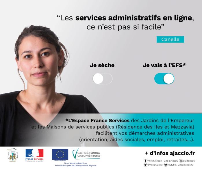 La Ville d'Ajaccio fait campagne contre la fracture numérique