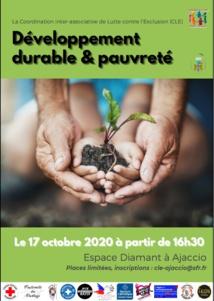 """Colloque """"Développement durable & pauvreté"""" organisé par la Coordination inter-associative de Lutte contre l'Exclusion (CLE)"""
