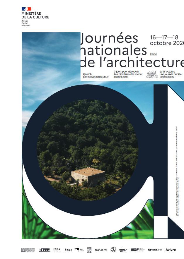 Journées Nationales de l'Architecture du 16 au 18 octobre 2020