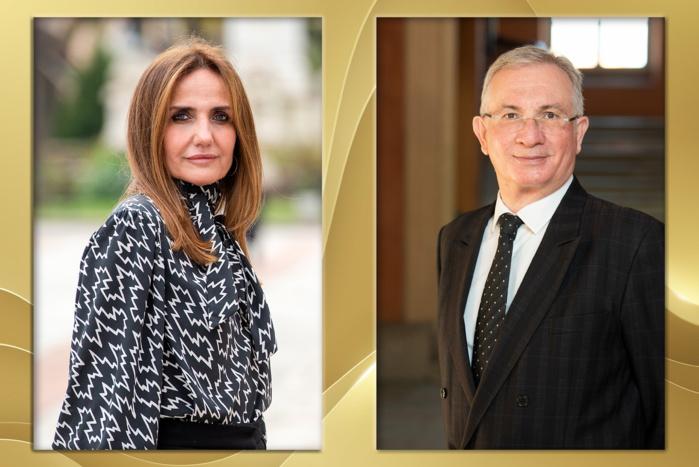 Caroline Corticchiato et Pierre-Paul Rossini nommés Chevaliers de l'Ordre National du Mérite au titre de leur engagement dans la lutte contre la Covid-19