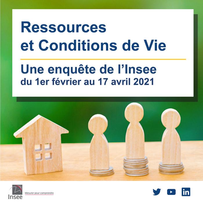 Enquête statistique sur les ressources et les conditions de vie