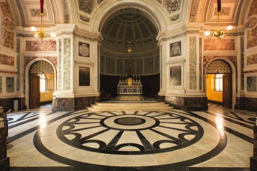 La chapelle impériale où repose les membres de la famille Bonaparte (Photo Ville d'Ajaccio).