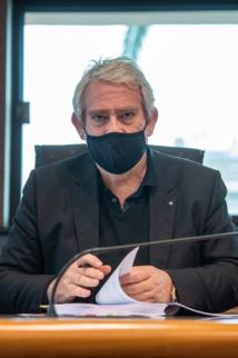Pierre Pugliesi, adjoint en charge des finances.