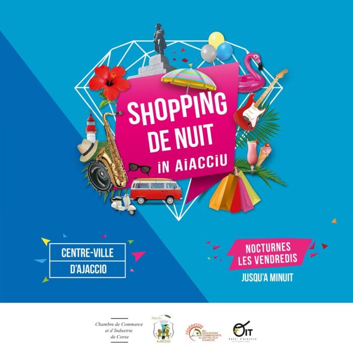Shopping de Nuit in Aiacciu
