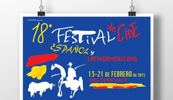 Du 13 au 21 février 18 ème Ville d'Ajaccio partenaire du Festival du Cinéma Espagnol et Latino-Américain