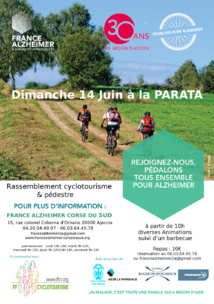 """France Alzheimer """"Pédalons pour Alzheimer"""""""