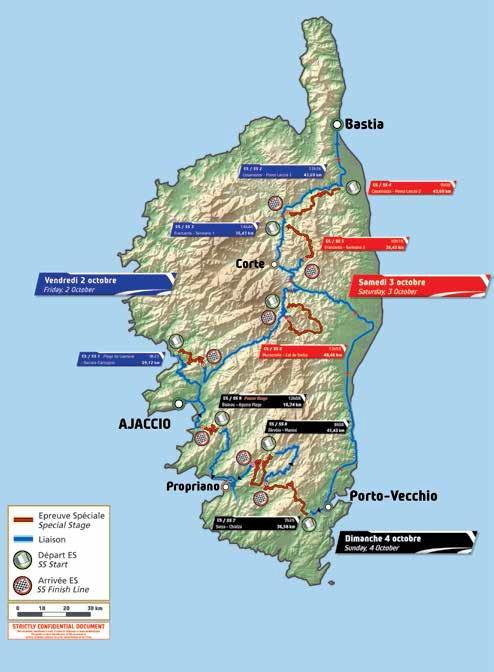 Tour de Corse 2015 du 1er au 4 octobre 2015