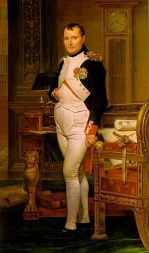 Napoléon dans son cabinet de travail aux Tuileries
