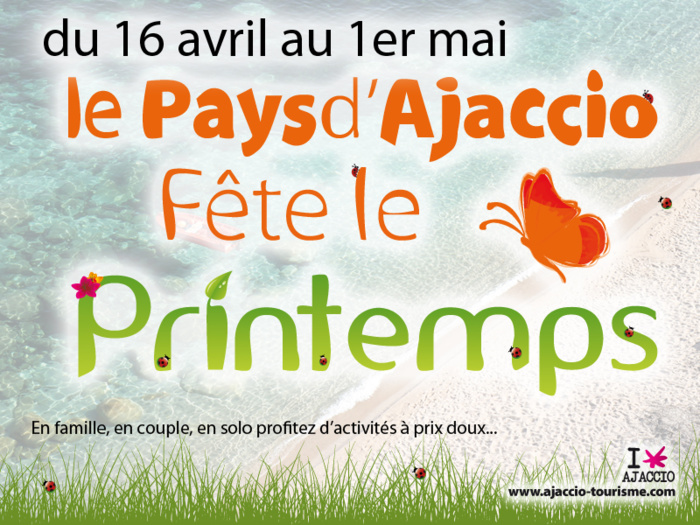 Le Pays d'Ajaccio fête le printemps