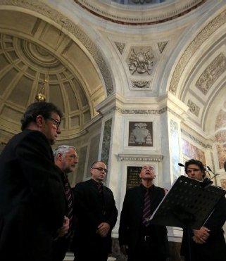 Jean Paul Poletti & le Choeur d'hommes de Sartène