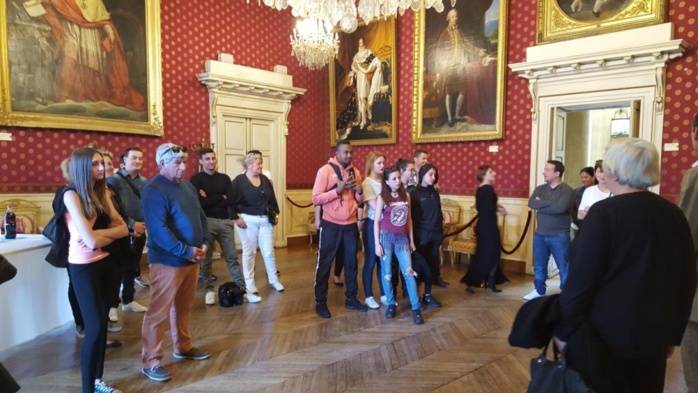 Echange culturel des centres sociaux des Cannes et U BORGU avec un centre social de LYON