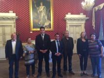 Accueil du Consul Général de Tunisie à Nice en présence du Président de l'Association Populaire des Tunisiens de Corse (Aptc)