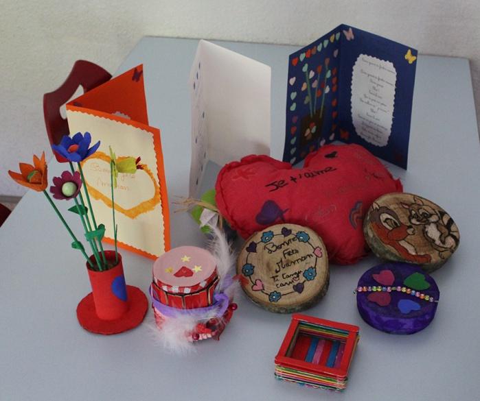 Les élèves inscrits aux Tap ont également participé à un atelier de créations.