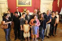 Remise de la médaille de la Ville au Docteur Louis Badetti pédiatre sous l'éternel