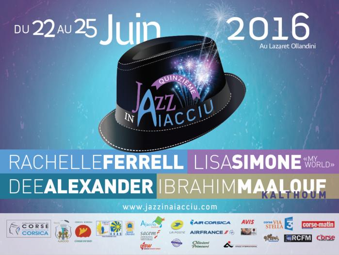 Festival Jazz In Aiacciu 2016 22 au 25 juin Au Lazaret