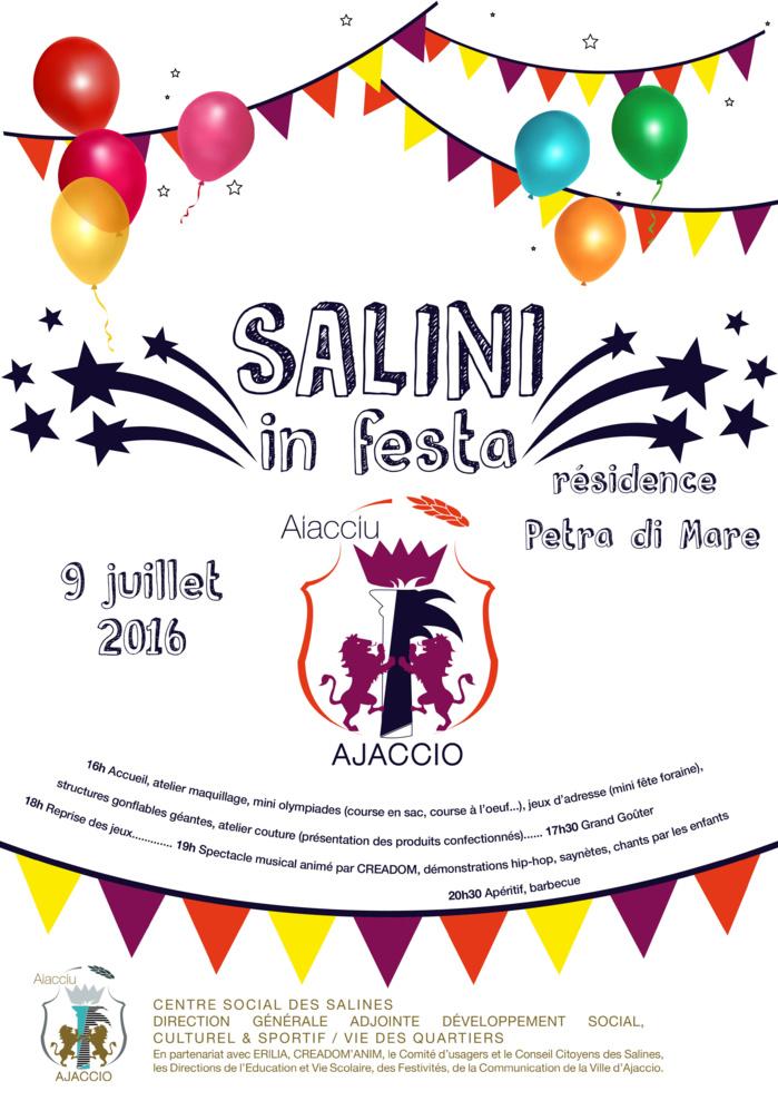 SALINI IN FESTA le samedi 9 juillet à Petra di Mare