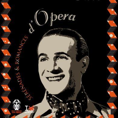 Hommage à Tino Rossi, Sérénades et Romances d'Opéra