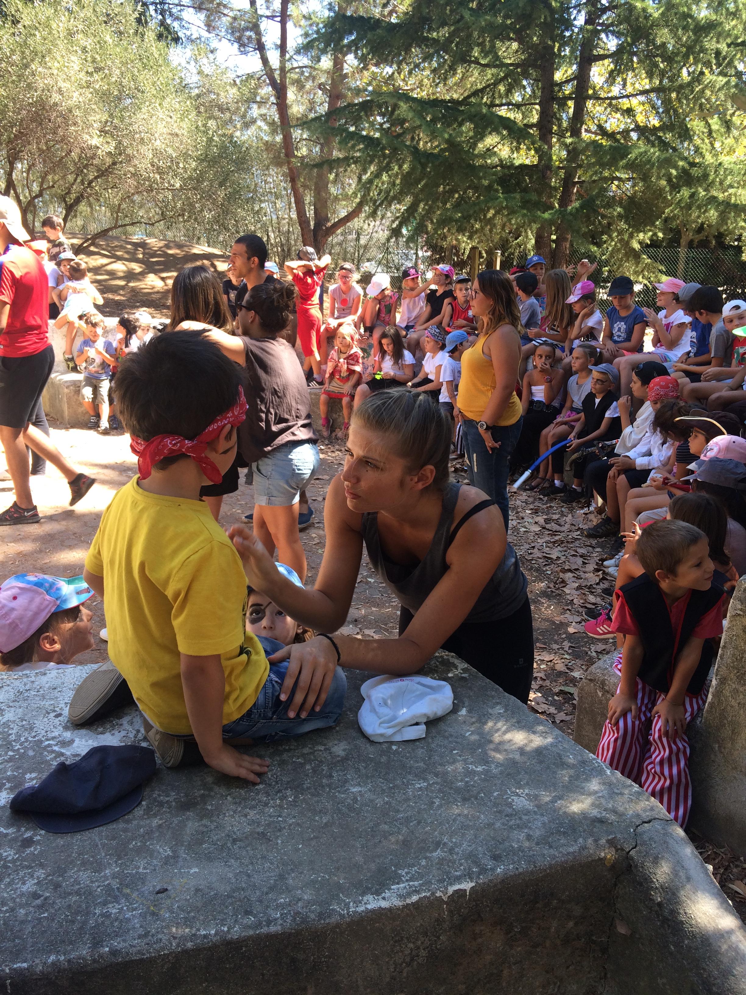 Le centre aéré de Baleone a accueilli 80 enfants de 3 à 11 ans durant les mois de juillet et d'août (Photos Ville d'Ajaccio).