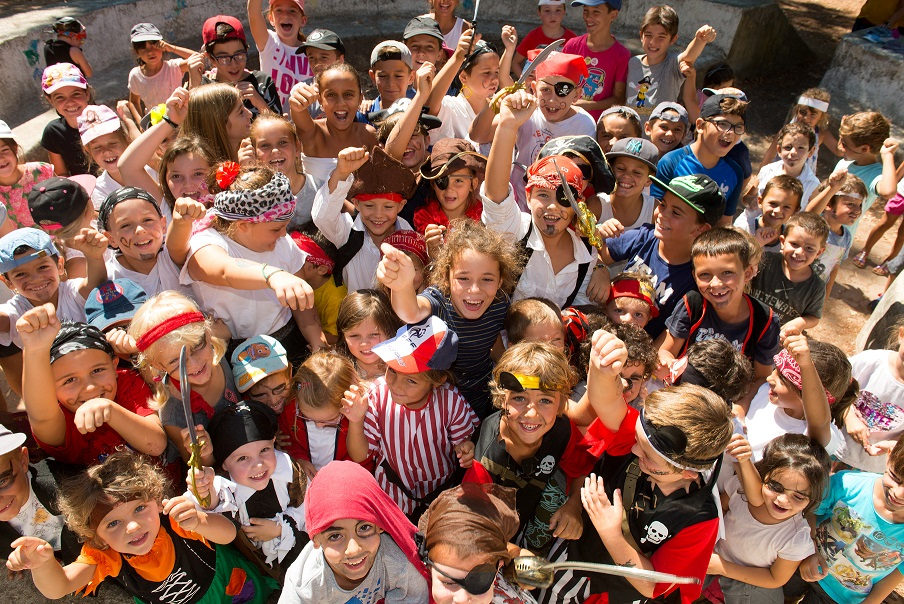 Un thème est choisi et détermine les activités auxquelles participent les enfants (Photo Ville d'Ajaccio).