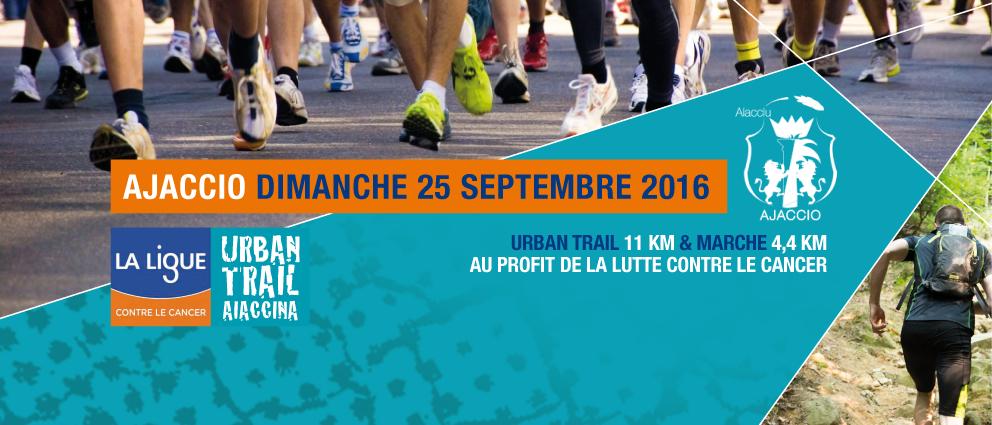 Urban Trail Aiaccina Dimanche 25 septembre 10h