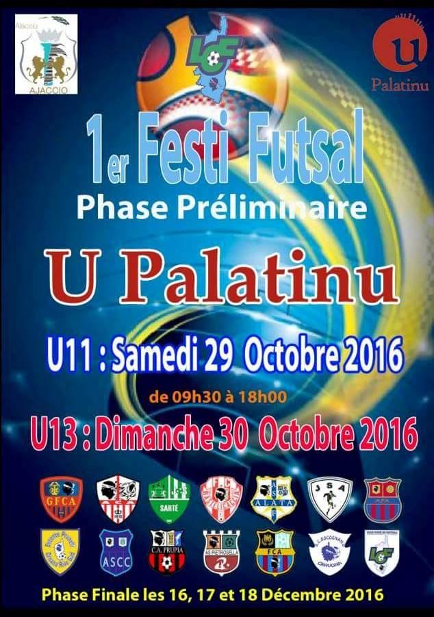 Tournoi U11 et U13 de Futsal de la Ville d'Ajaccio