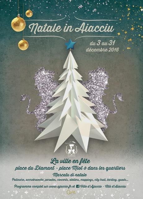 U Marcatu di Natale in Aiacciu Du 3 au 24 décembre Place du Diamant