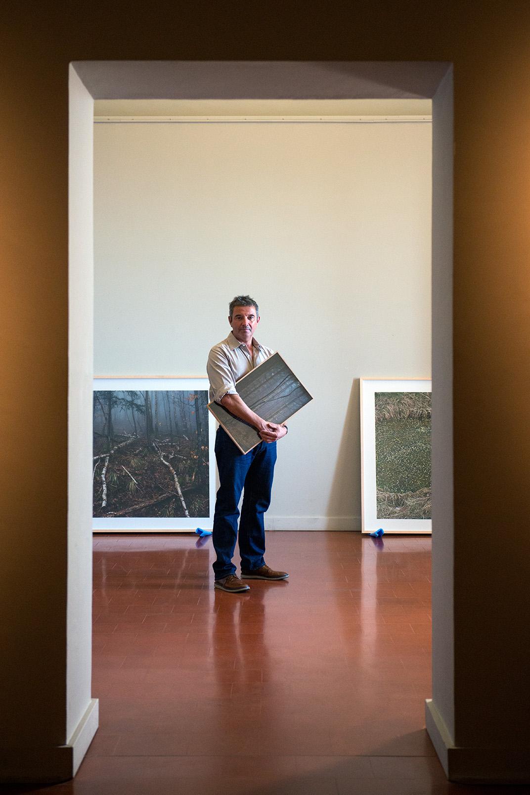 C'est un récit exceptionnel de la Première Guerre Mondiale que nous propose l'artiste Denis Darzarq (Photos Ville d'Ajaccio).