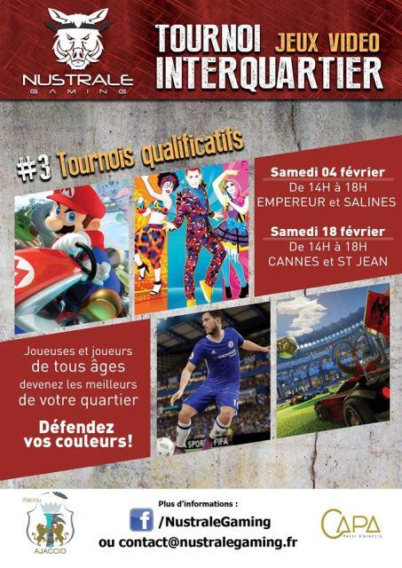 Tournoi InterQuartier 2017