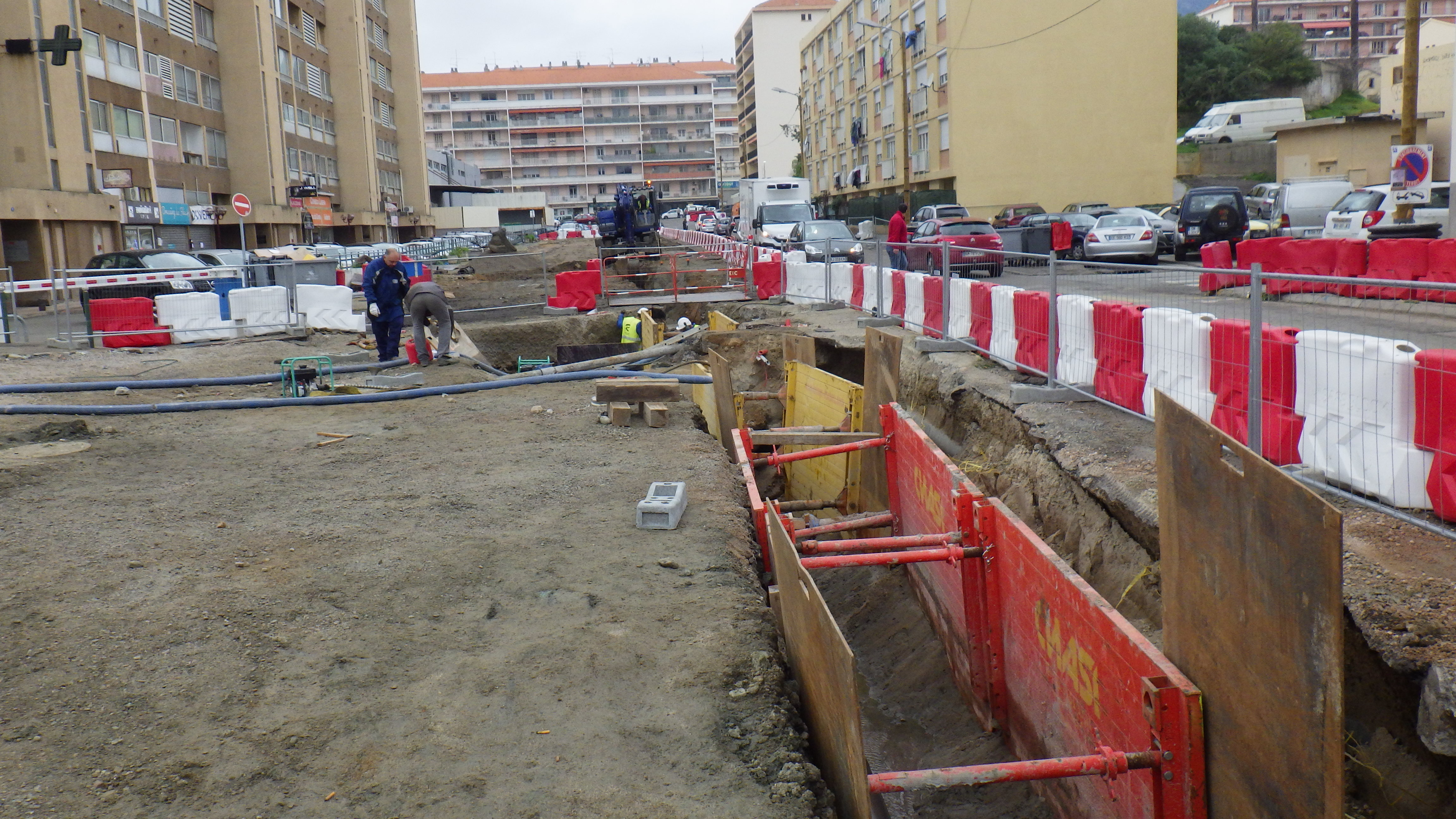 Nouveau Point de situation sur les travaux en cours aux Cannes et aux Salines