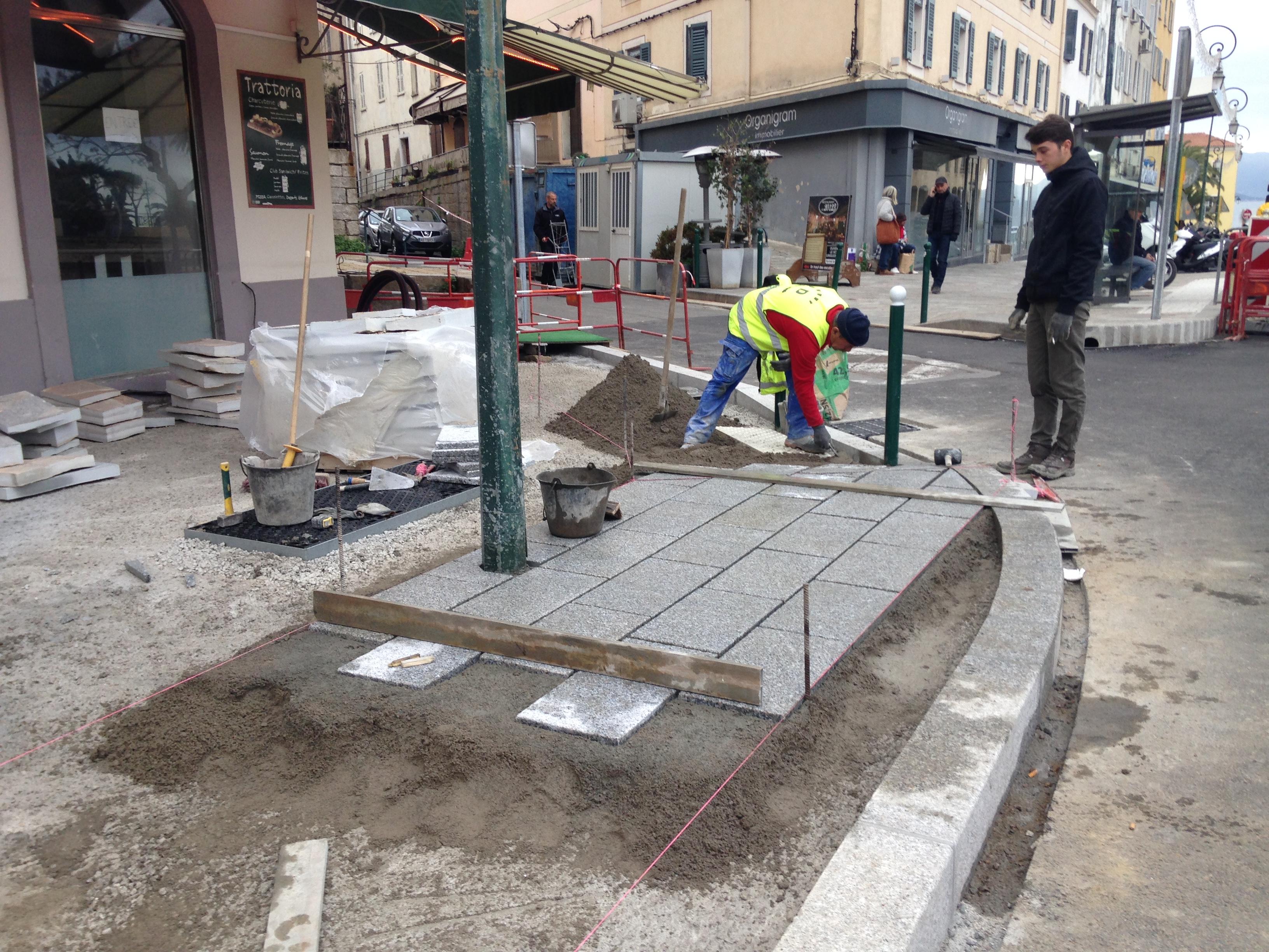 Phase 2 des travaux de l'Avenue Eugène Macchini