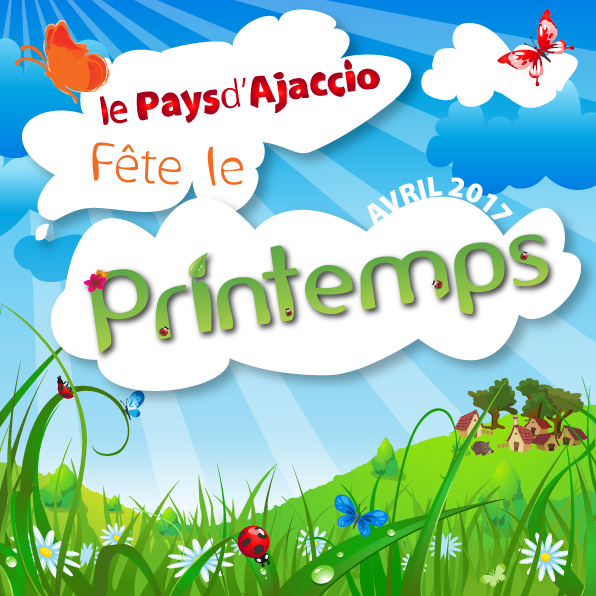 Le Pays d'Ajaccio fête le printemps du 1er au 30 avril