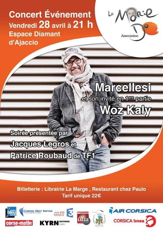 Concert de Pierre Marcellesi au profit de La MarieDo le 28 avril 21h à l'Espace Diamant