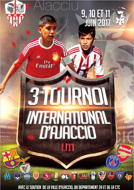 3 ème tournoi International D'Ajaccio U11 9 au 11 juin