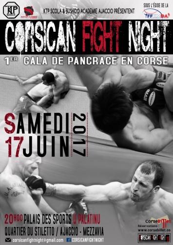CORSICA FIGHT NIGHT 1er Gala de Pancrace en Corse au Palatinu Samedi 17 Juin, 20h00