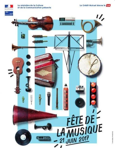 Le 21 Juin fête de la musique à Ajaccio
