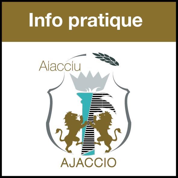 Info Fermeture accueil mairie d'Ajaccio du 27 juin au 3 juillet
