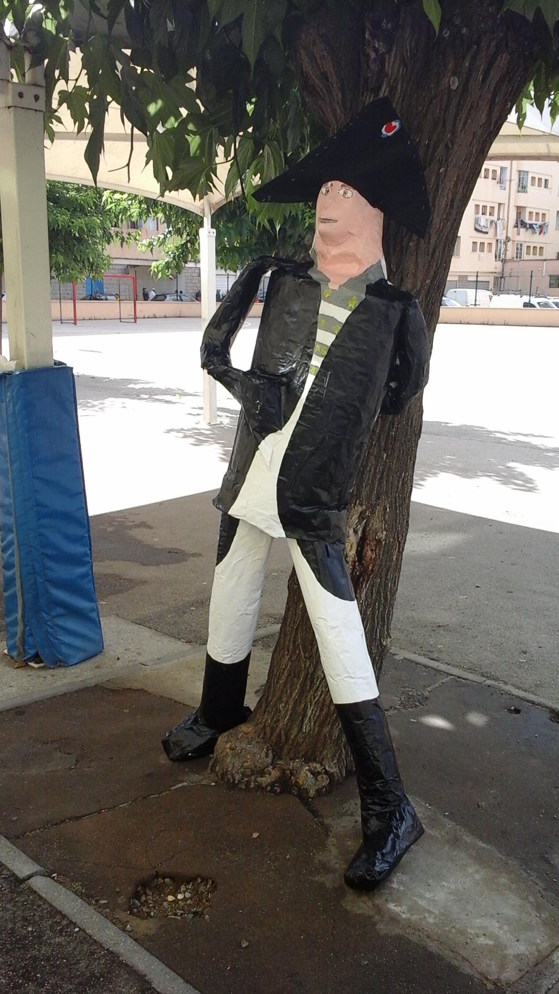 Napoléon retourne à l'école..Sampiero