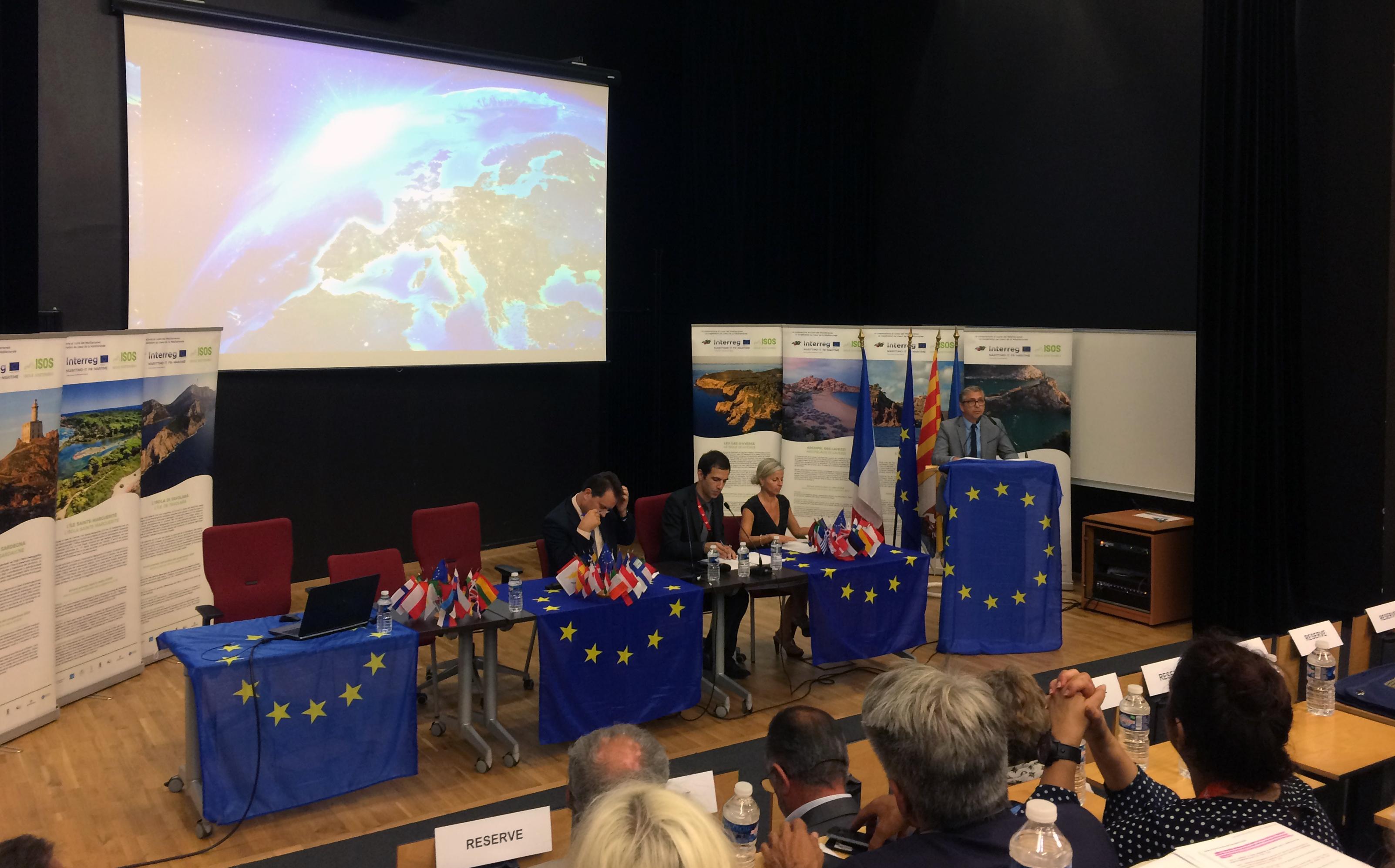 Journées VAR EUROPE 2017 : La Ville d'Ajaccio présente aux côtés de la Fondazione CIMA